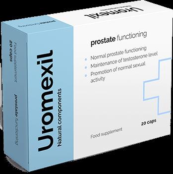 Uromexil suplemento para la próstata