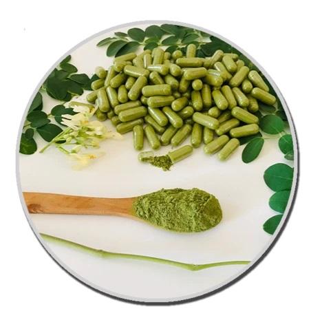 Moringa Actives: ¿Qué ingredientes contienen las cápsulas?